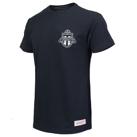 Toronto FC Men's Black and White Tee