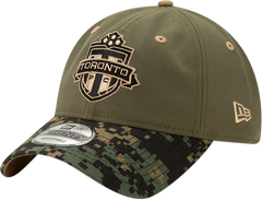 Toronto FC New Era Men's Camo Slouch Adjustable Hat