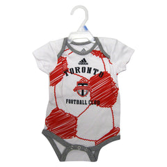 Toronto FC Adidas Infant Drop Ball Creeper - shop.realsports