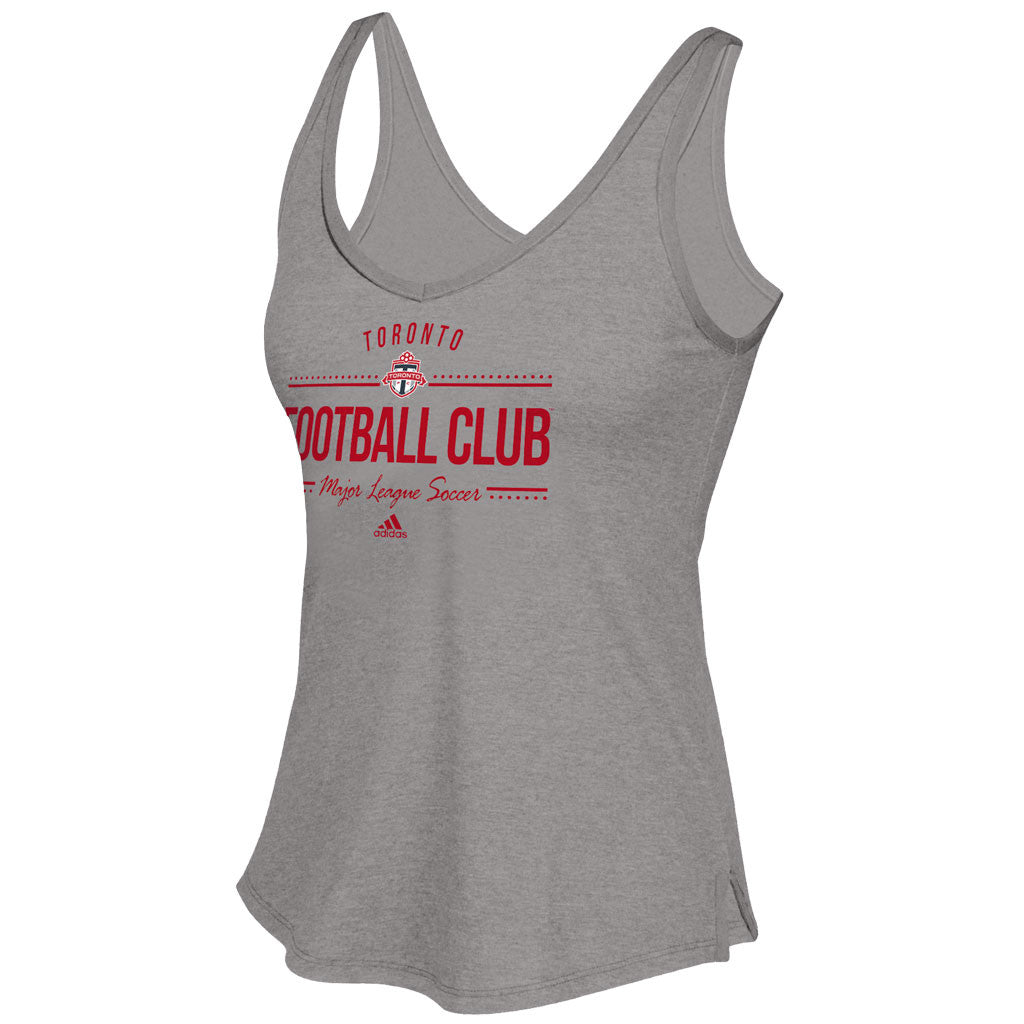 Toronto FC Adidas Ladies Honeycomb Lines Tanks