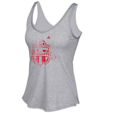 Toronto FC Adidas Ladies War Paint Team Logo Tank