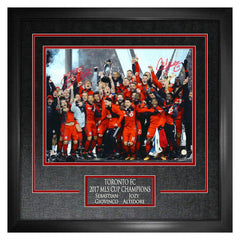 Giovinco & Altidore Duo Signed 11x14 MLS Champions Photo Framed