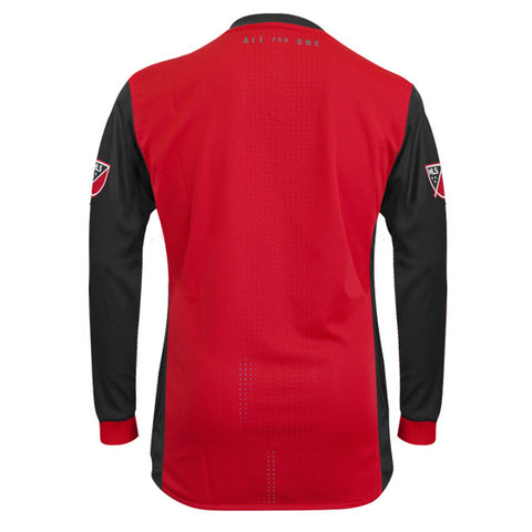 Toronto FC Adidas Men's Authentic L/S Jersey - Red