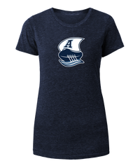 Argos New Era Ladies Double Blue Boat Logo Tee