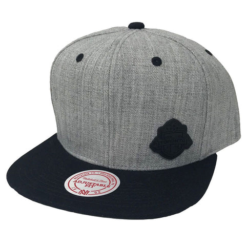 Toronto FC Men's Heather Micro Logo Snapback
