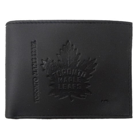 Toronto Maple Leafs Bi-Fold Leather Wallet
