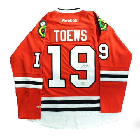 Jonathan Toews Signed Blackhawks Jersey