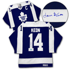 Dave Keon Signed Leafs Jersey