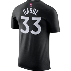 Raptors Nike Men's Gasol Player Tee