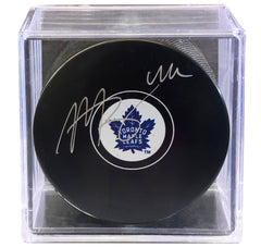 Morgan Rielly Signed Maple Leafs Puck