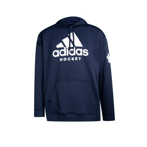 Maple Leafs Adidas Men's Hockey Logo Hoody