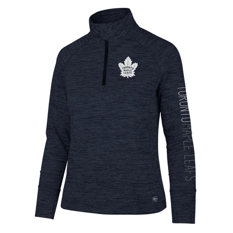 Maple Leafs 47 Brand Ladies Shade 1/4 Zip