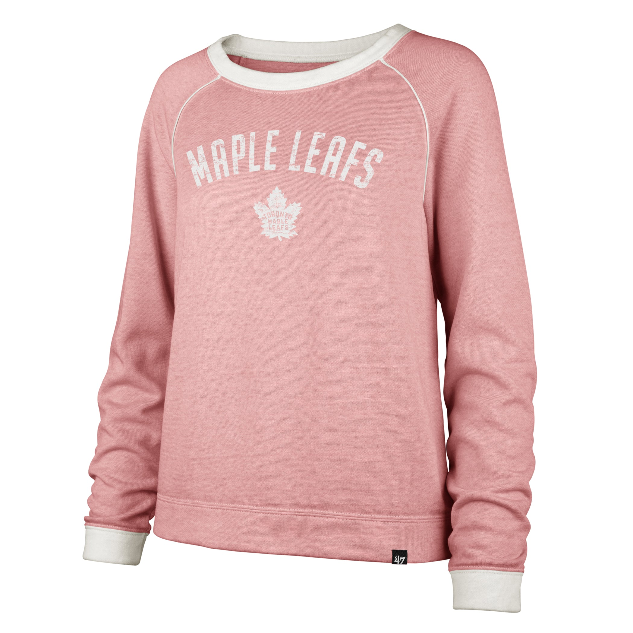 Maple Leafs 47 Brand Ladies Fadeout Crew