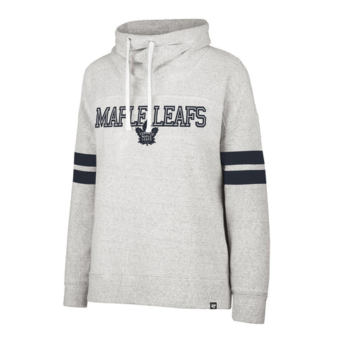 Leafs 47 Brand Ladies Offside Funnelneck Sweater