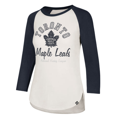 Maple Leafs 47 Brand Ladies Splitter Raglan