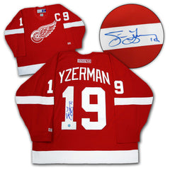 Steve Yzerman Signed Red Wings Jersey