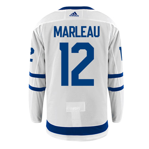 Toronto Maple Leafs Adidas Authentic Mens MARLEAU Away Jersey
