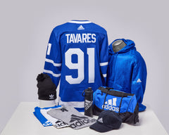Maple Leafs Adidas Authentic Men's Home Jersey + Adidas Pack - TAVARES