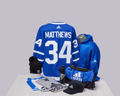 Maple Leafs Adidas Authentic Men's Home Jersey + Adidas Pack - MATTHEWS