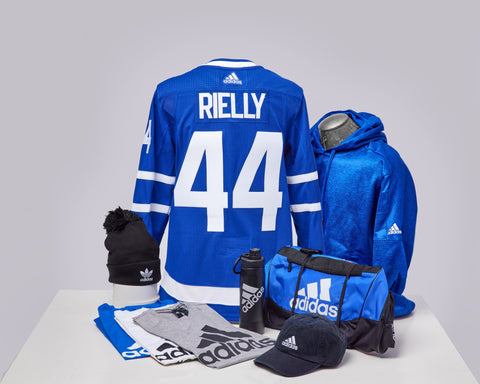 Maple Leafs Adidas Authentic Men's Home Jersey + Adidas Pack - RIELLY