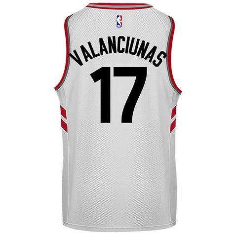 Toronto Raptors Adult Swingman Association Valanciunas Jersey