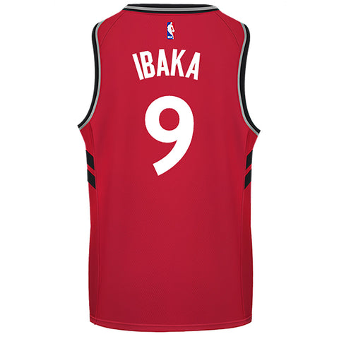 Raptors Nike Men's Swingman Icon Jersey - IBAKA