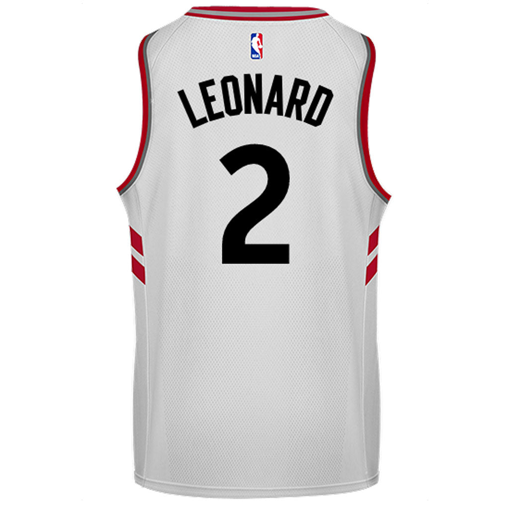 Toronto Raptors Adult Swingman Association Leonard Jersey