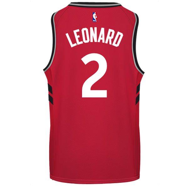 4e298449133 Raptors Men's Swingman Icon Jersey - LEONARD