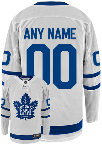 Maple Leafs Youth Away Jersey - CUSTOM