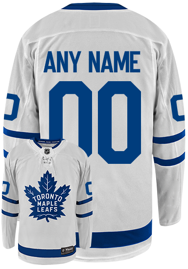 Maple Leafs Ladies Breakaway Away Jersey - CUSTOM