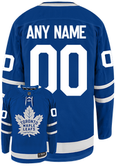 Maple Leafs Breakaway Men's Home Jersey - CUSTOM
