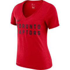 Raptors Nike Ladies Wordmark Tee