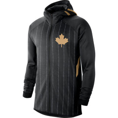Raptors Nike Men's 2019 City Therma Flex Earned Zip Hoody