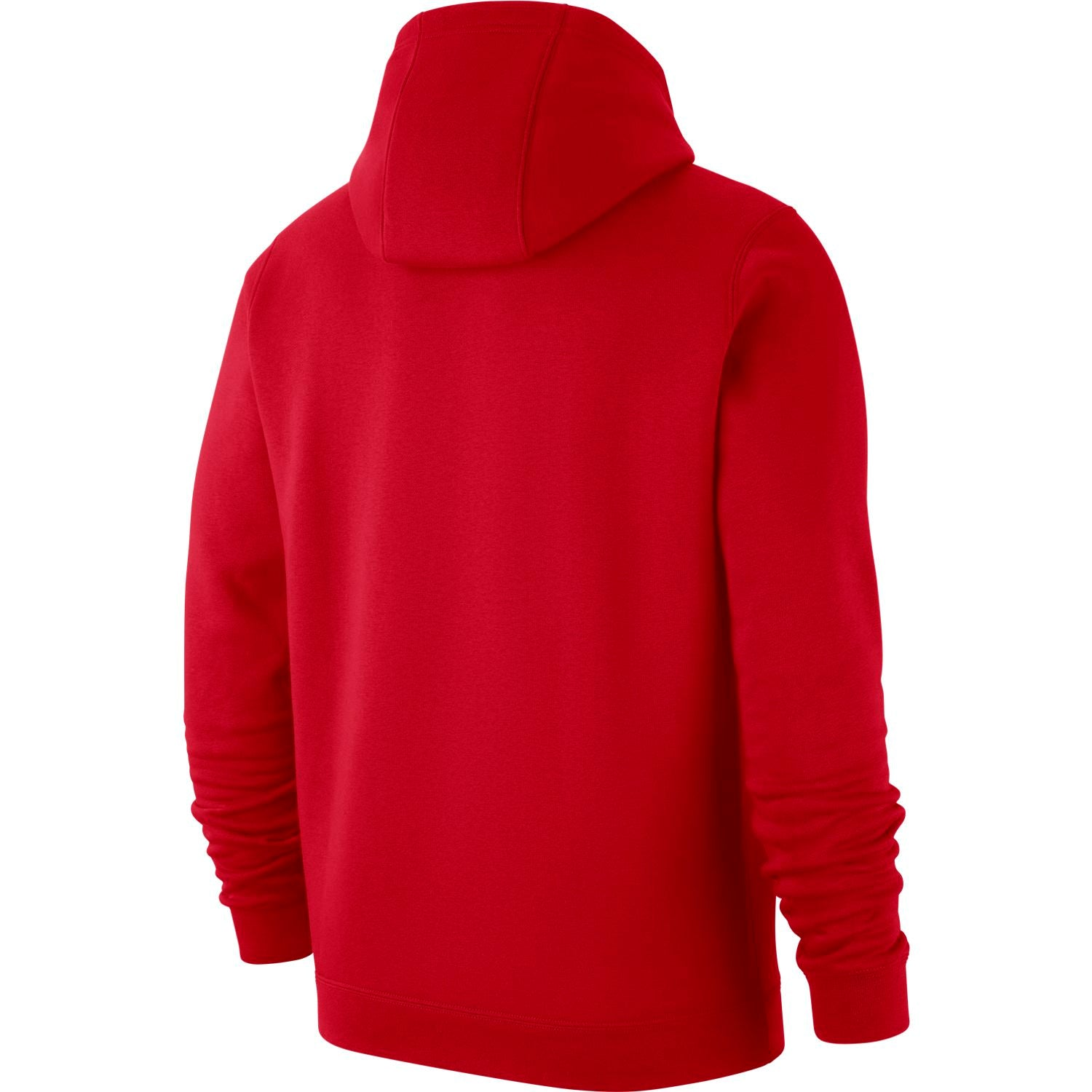 Raptors Men's Club Fleece Logo Hoody - Red