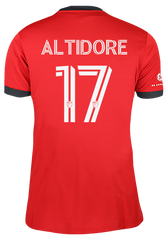 Toronto FC Adidas Youth Replica 2021 A41 Home Jersey - ALTIDORE