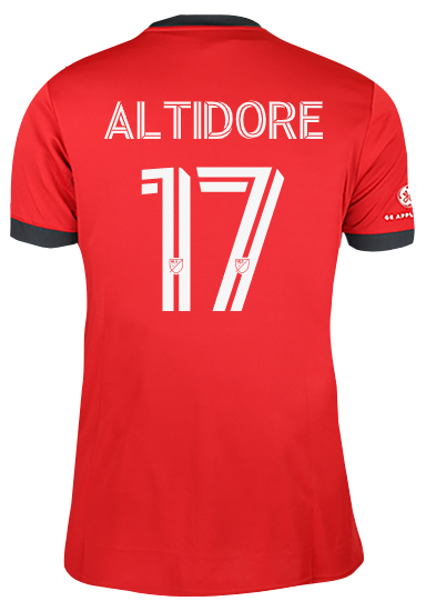 Toronto FC Adidas Ladies Replica 2021 A41 Home Jersey - ALTIDORE