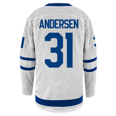 Maple Leafs Ladies Breakaway Away Jersey - ANDERSEN
