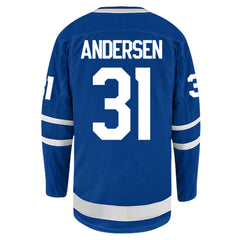 Toronto Maple Leafs Breakaway Mens ANDERSEN Home Jersey