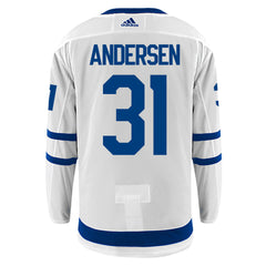Maple Leafs Adidas Authentic Men's Away Jersey - ANDERSEN