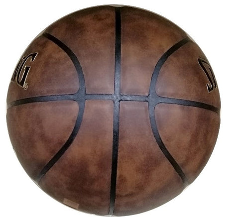 Toronto Raptors Spalding HWC Antique Leather Ball