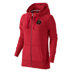 Raptors Nike Ladies 2019 Champs Full Zip Hoody