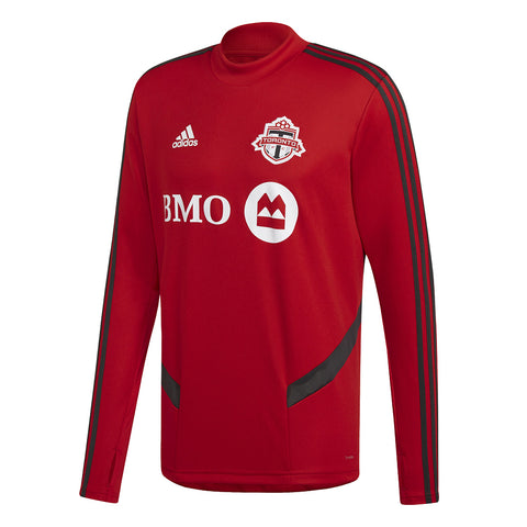 Toronto FC Adidas Men's 2019 Authentic Training Long Sleeve