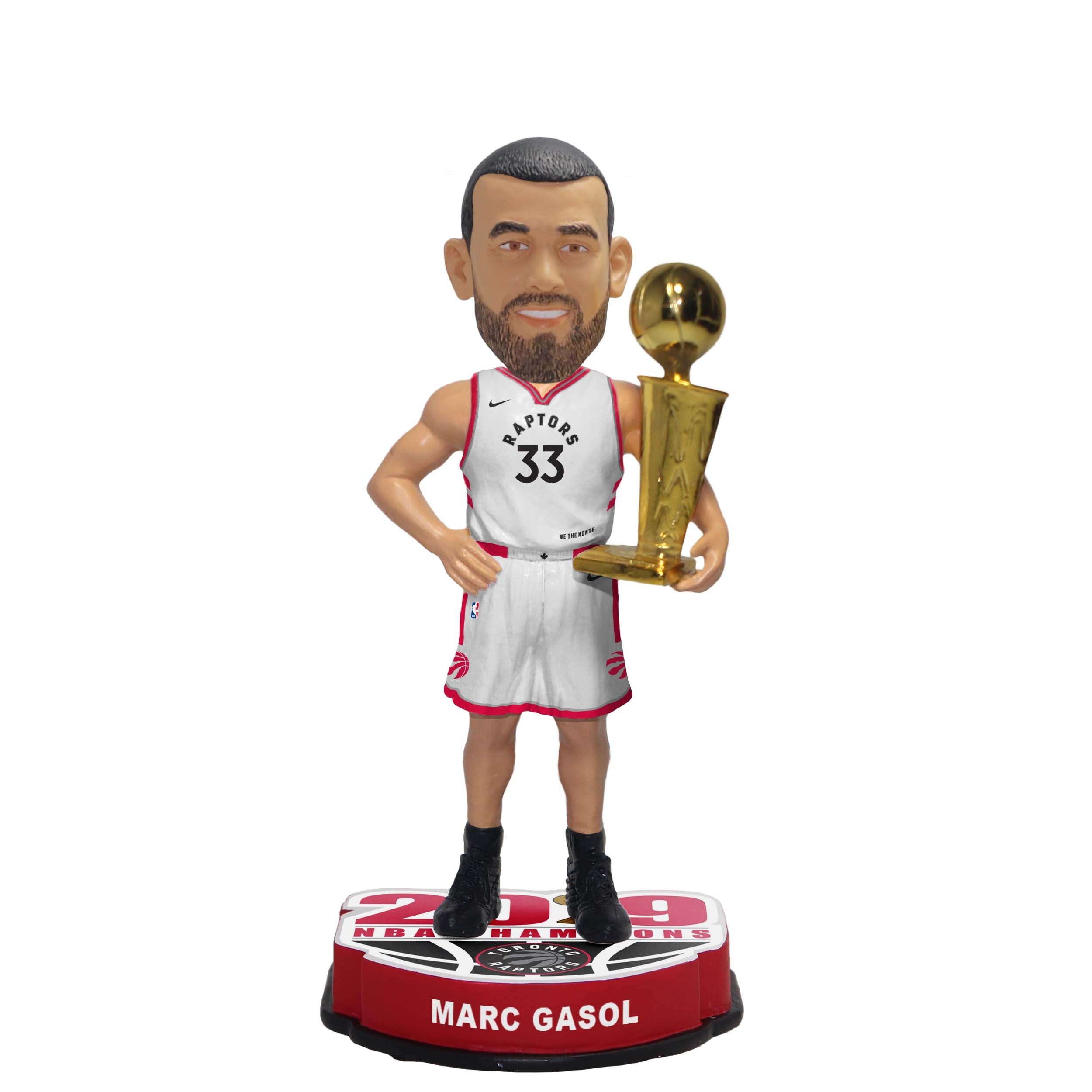 "Raptors 2019 NBA Champs 8"" Bobblehead - GASOL"