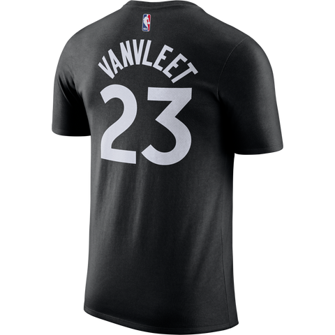 Raptors Nike Men's Vanvleet Player Tee - Black