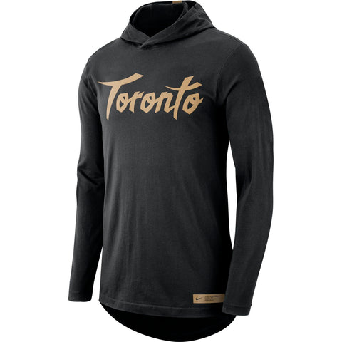 Raptors Nike Men's 2019 City Hooded Long Sleeve
