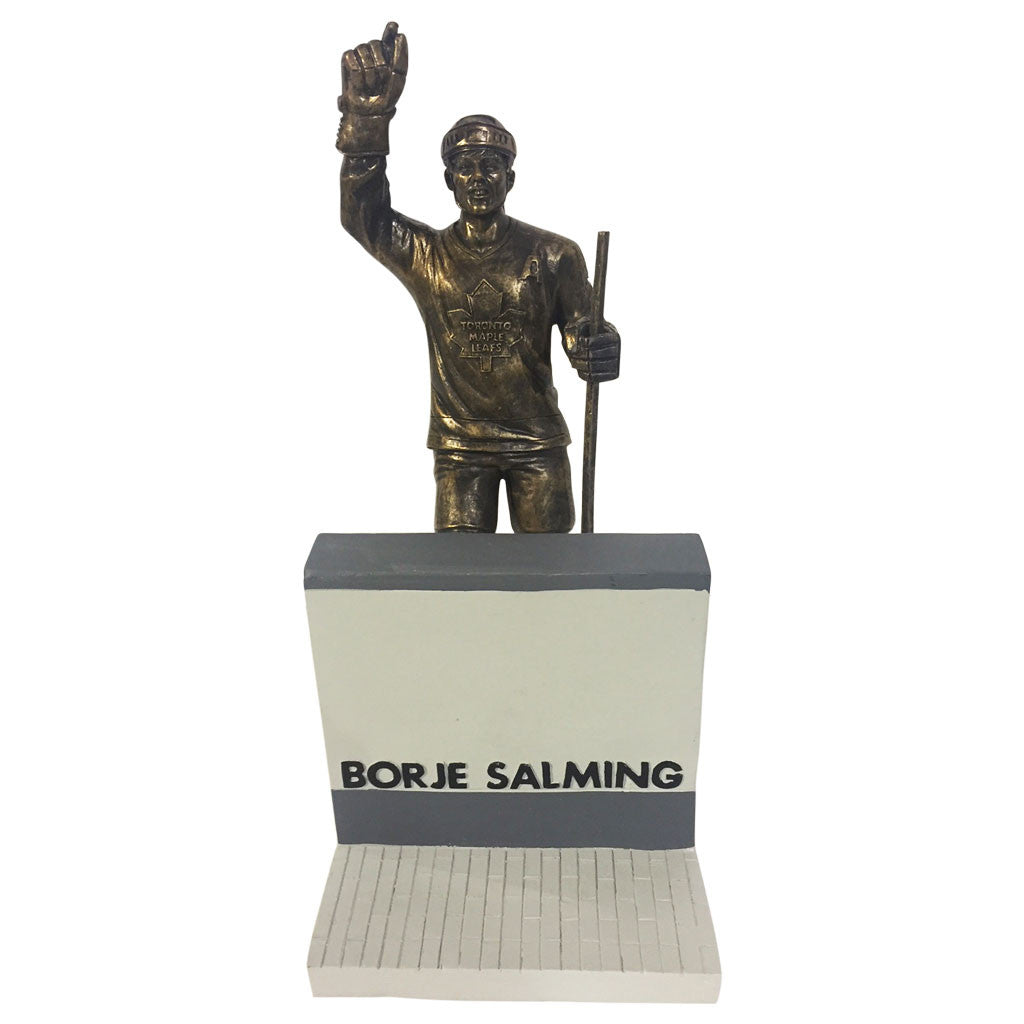 "Toronto Maple Leafs 10"" Salming Legends Row Bronze Replica Figurine - shop.realsports - 1"