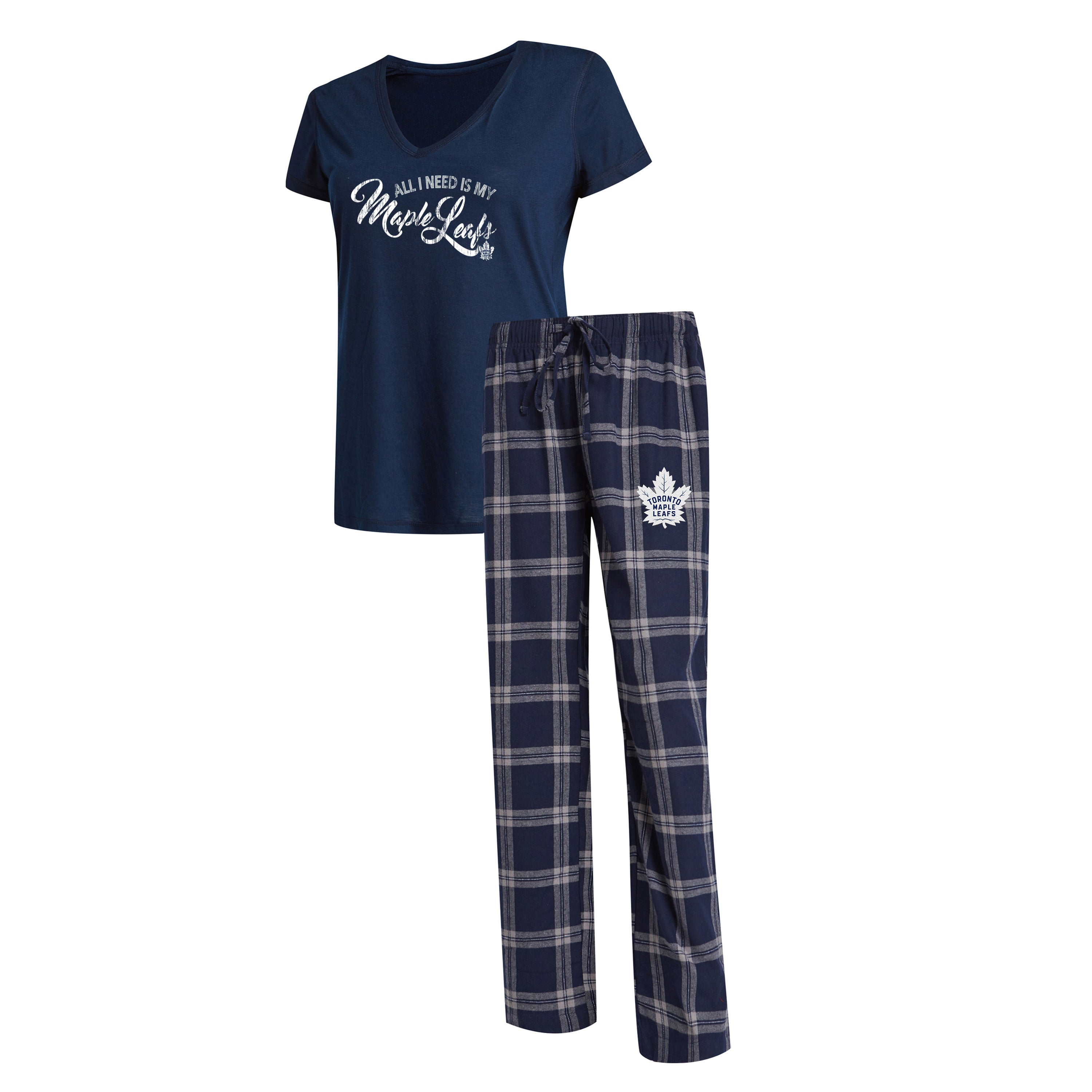 Maple Leafs Ladies Troupe Sleep Set