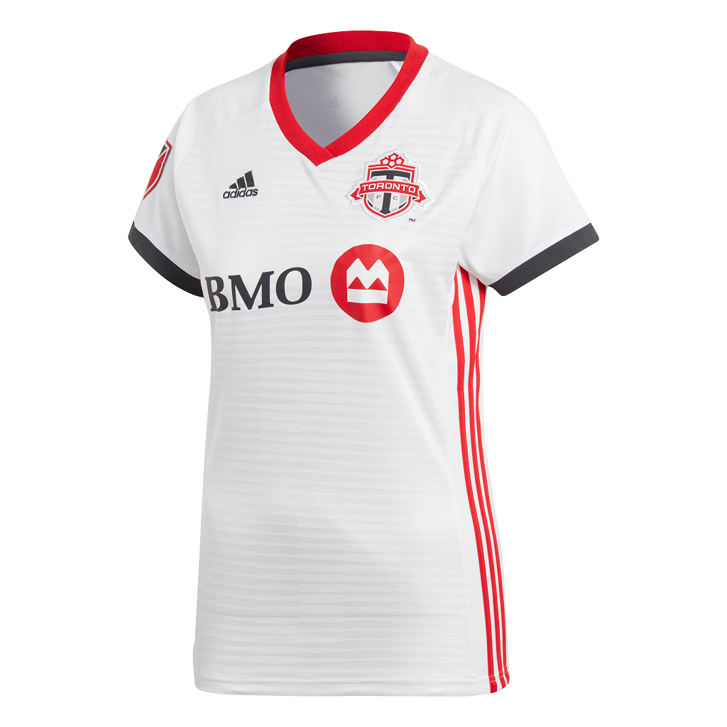 reputable site c901a daac0 Toronto FC Adidas Ladies 2019 Replica Away Jersey