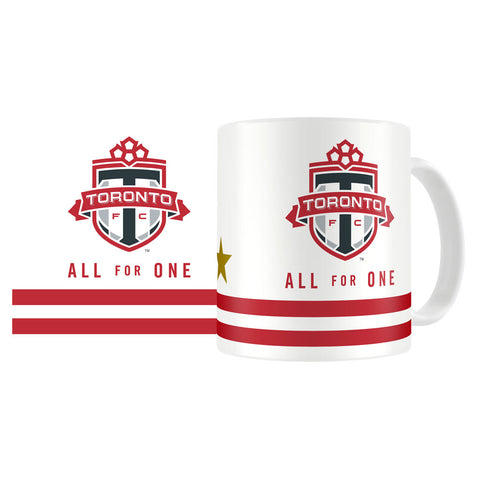 Toronto FC All For One Gold Star 11oz Coffee Mug