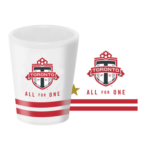 Toronto FC All For One Gold Star Shot Glass
